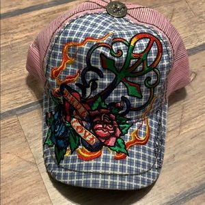 Ed Hardy by Christian Audigier SnapBack True Love